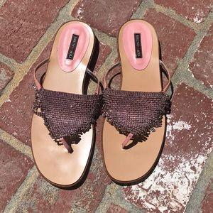 💎 Bruno Magli Crystal Sandals 💎